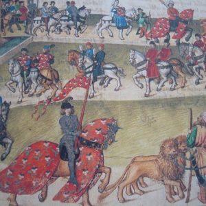 Le Pas de Saumur (Libro de los Torneos de René d'Anjou), 1446