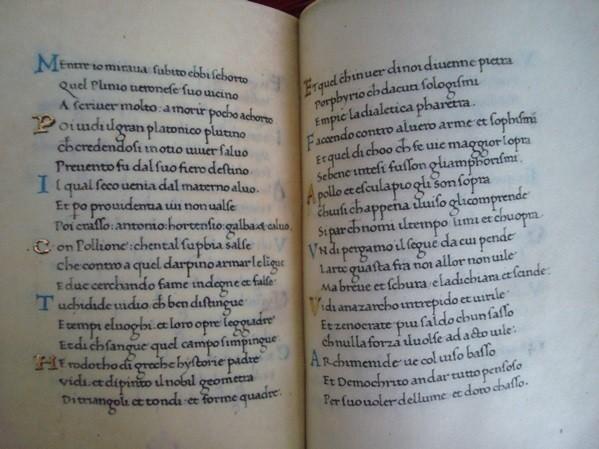 Trionfi (Triunfos de Petrarca), Francesco Petrarca, s. XV
