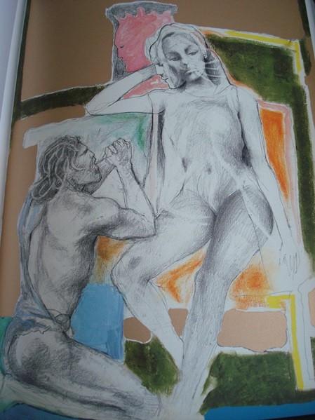 Odisea, Homero, ilustrada por Ugo Attardi, FMR
