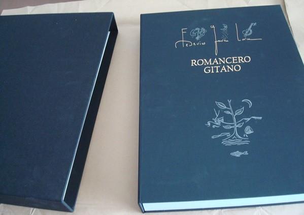 Romancero Gitano, Federico García Lorca, y 12 grabados de Jorge Perellón
