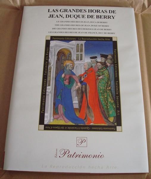 Libro estudio de las Grandes Horas del Duque de Berry (en español)