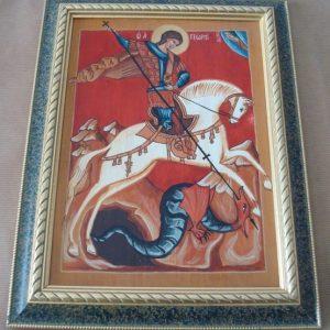 San Jorge, icono original, Francisco Arlandis López, 1993