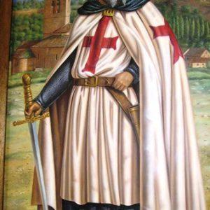 Jacques de Molay, último Gran Maestre del Temple, por Ricardo Renedo 2010