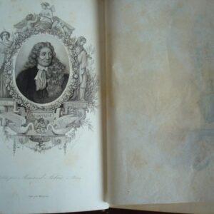 Las fábulas de La Fontaine, en francés, ilustrado por Jules David, 1839