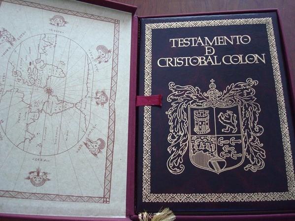 Testamento de Cristóbal Colón, 1506