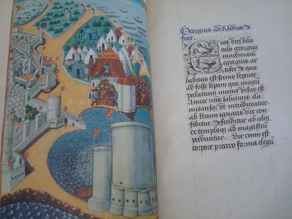El sitio de Rodas, s. XV (las Cruzadas)