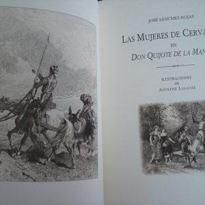 Las mujeres de Cervantes en Don Quijote de La Mancha, José Sánchez Rojas