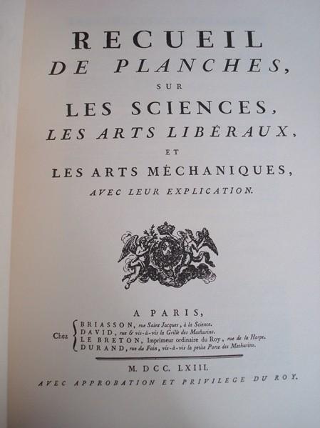 La caza en la Enciclopedia de Diderot y D'Alembert