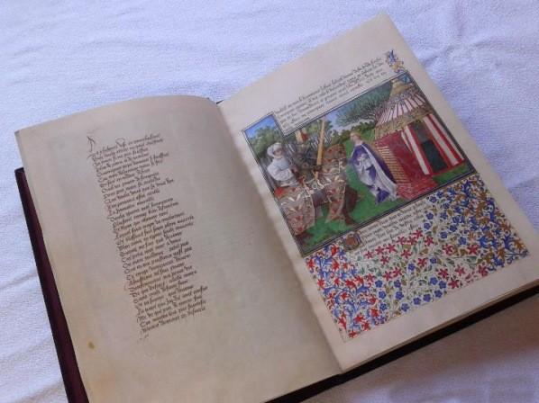 El Libro del Corazón Prendido, René D'Anjou, c. 1460