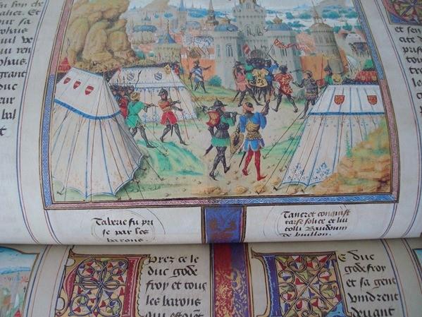 Las Crónicas de las Cruzadas de Jerusalén, año 1455