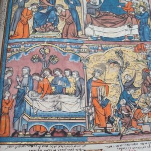 La Biblia de los Cruzados, s. XIII *****+ (en pergamino natural)