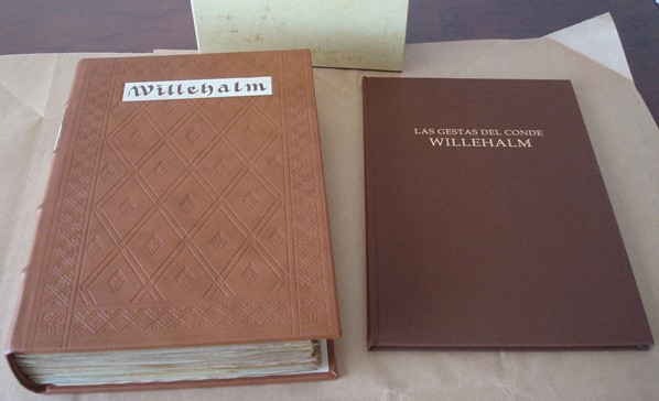The deeds of Count Willehalm, s. XIV