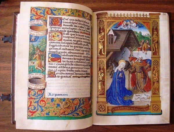 Libro de Horas de Carlos VIII Rey de Francia, siglo XV *****