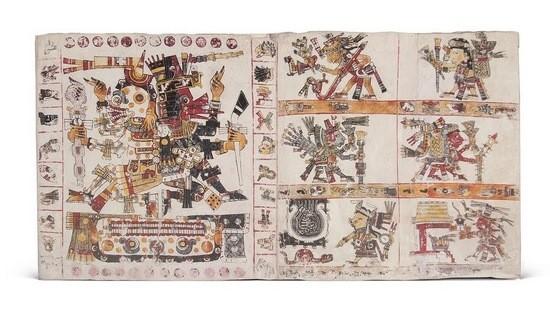Códice Borgia, s. XV (ed. 2007 de Testimonio)