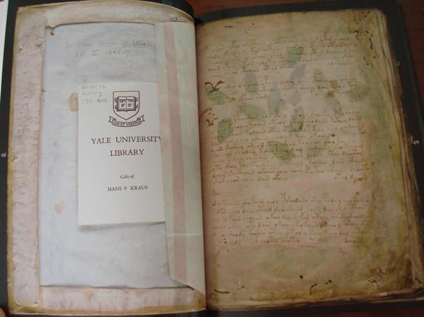 El Manuscrito Voynich, el libro más misterioso del Mundo