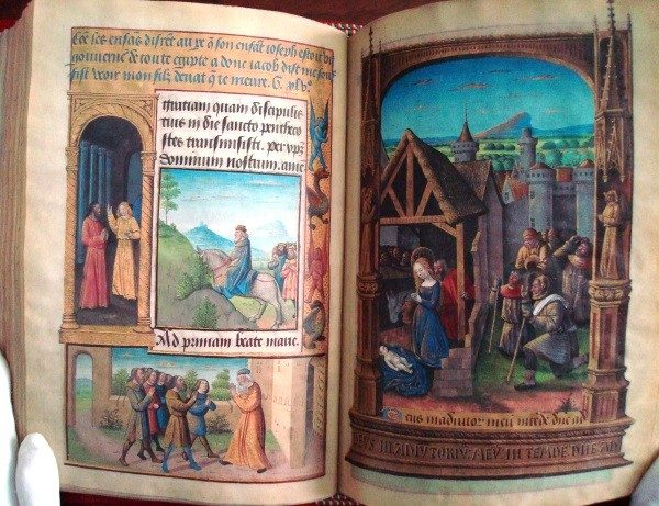 Libro de Horas de Luis de Laval, siglo XV (5*+) (SM)